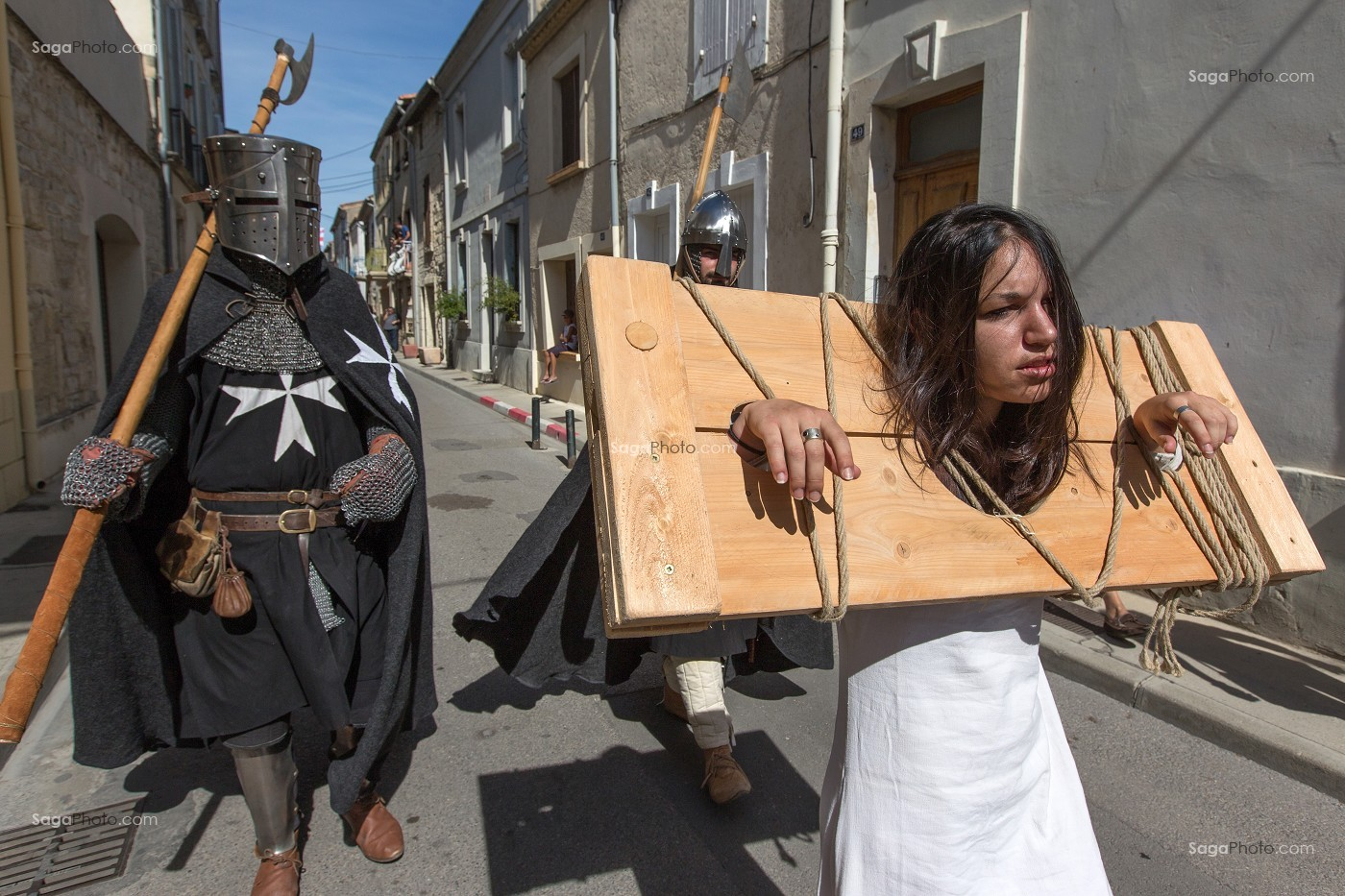 FETE DE LA SAINT-LOUIS, AIGUES-MORTES, GARD (30), FRANCE