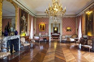 GRAND SALON, CHATEAU DE MAINTENON, EURE-ET-LOIR (28), FRANCE