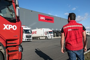 SOCIETE XPO LOGISTICS EUROPE, PLATEFORME LOGISTIQUE DE POUPRY (28), FRANCE