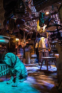 CUISINE DE HAGRID, STUDIO TOUR LONDON, THE MAKING OF HARRY POTTER, WARNER BROS, LEAVESDEN, ROYAUME UNI