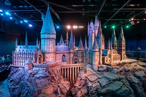 MAQUETTE DE POUDLARD, STUDIO TOUR LONDON, THE MAKING OF HARRY POTTER, WARNER BROS, LEAVESDEN, ROYAUME UNI