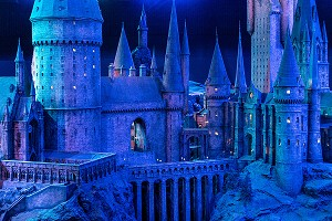 DETAIL MAQUETTE DE POUDLARD, STUDIO TOUR LONDON, THE MAKING OF HARRY POTTER, WARNER BROS, LEAVESDEN, ROYAUME UNI