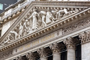 BOURSE DE WALL STREET (NEW YORK STOCK EXCHANGE), MANHATTAN, NEW-YORK, ETATS-UNIS, USA