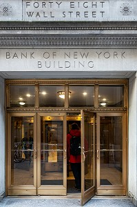 BUILDING DE LA BANK OF NEW YORK, 40 WALL STREET, MANHATTAN, NEW-YORK, ETATS-UNIS, USA