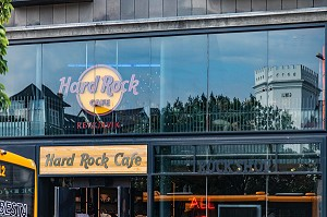 HARD ROCK CAFE, RUE LAEKJARGATA, REYKJAVIK, ISLANDE, EUROPE