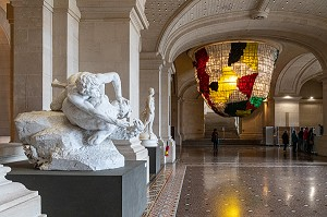 GRAND HALL D'ENTREE, PALAIS DES BEAUX-ARTS, LILLE, NORD, FRANCE
