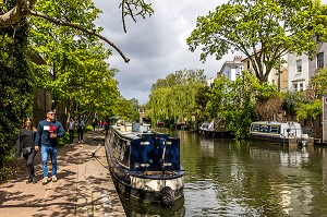 REGENT'S CANAL, LONDRES, ANGLETERRE