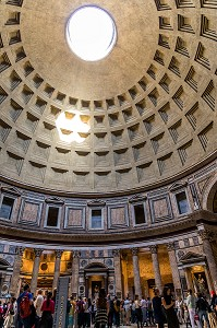 PANTHEON, ROME, ITALIE, EUROPE