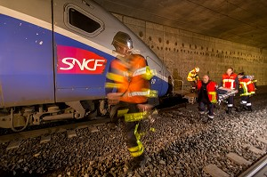SIMULATION ACCIDENT FERROVIAIRE